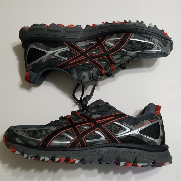 3e59b560f533 Asics Gel Scram 3 Mens Running Shoes Size 12.5 M